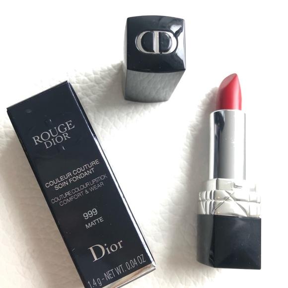 Dior Other - New Rouge Dior 999 Matte Mini Lipstick